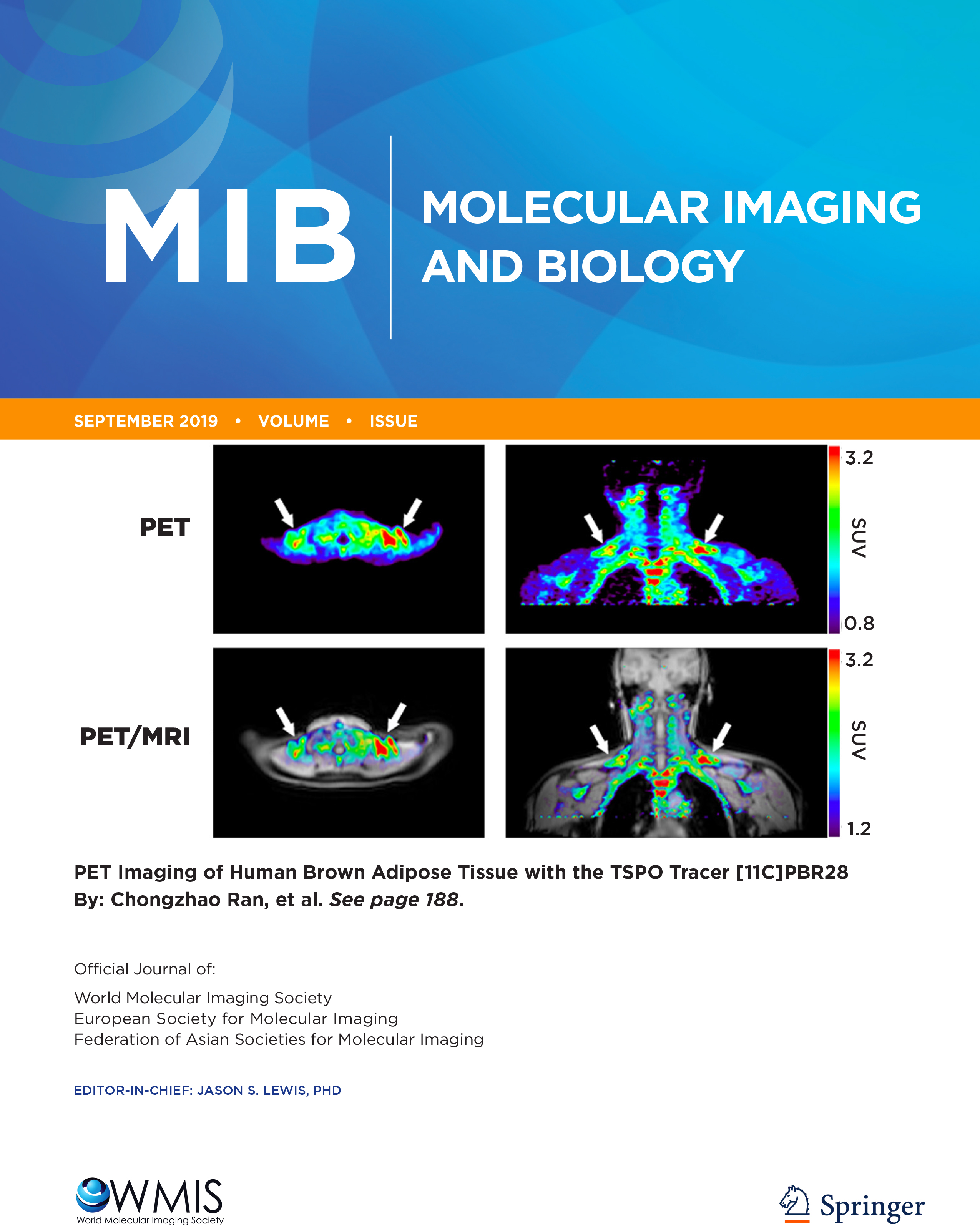 Submit your Science to the Journal of Molecular Imaging and Biology